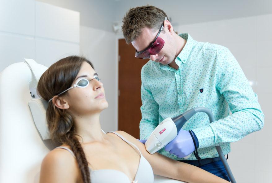 szybka depilacja laserowa